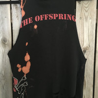 THE OFFSPRING tank top, concert shirt band tee, cropped tank, hard rock, rockster