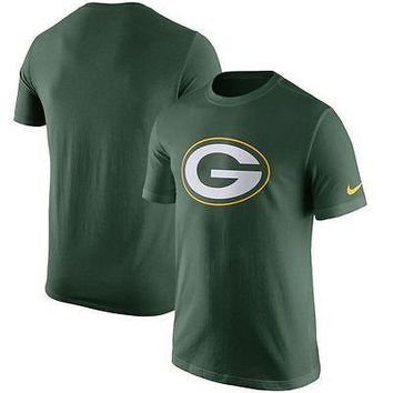 Green Bay Packers Shirt Men's Nike NFL Essential Logo T-Shirt