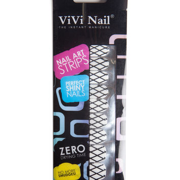 Fence Nail Art Strips