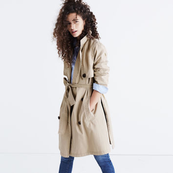 Abroad Trench Coat : | Madewell