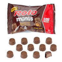 Rolo's Minis Candy King Size Pouches: 16-Piece Box
