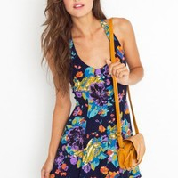 Rosie Dress - Floral - NASTY GAL