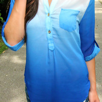 Blue Mist Blouse