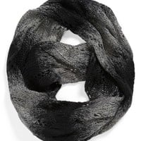 David & Young Ombre Pointelle Infinity Scarf (Juniors) (Online Only)