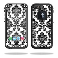 Mightyskins Protective Vinyl Skin Decal Cover for Lifeproof iPhone 6/6S Case fre Cover wrap sticker skins Vintage Damask