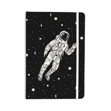 "Kess Original ""Space Adventurer"" Black Fantasy Everything Notebook"