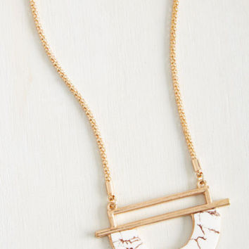 Rock and Key Necklace