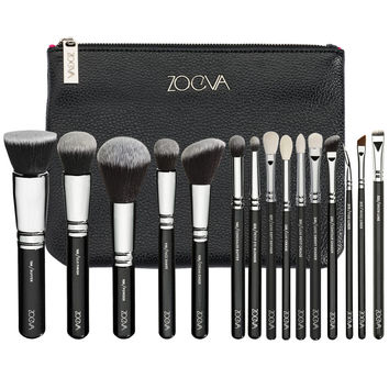In stock Zoeva makeup brush COMPLETE SET  include  eye / face brush pro make up tools 15pcs/set