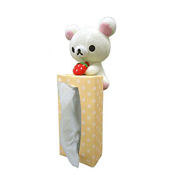 Korilakkuma strawberries have Rilakkuma Tissue (japan import)
