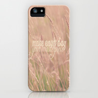 Make Each Day  iPhone & iPod Case by secretgardenphotography [Nicola]
