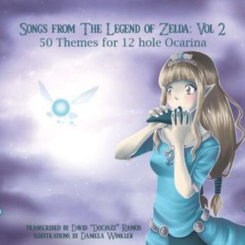 Zelda Songbook II for 12 Hole Ocarina