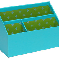 Desk  Organizer, Turquoise/Green, Office Supplies