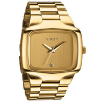 Nixon The Big Player Watch All Gold One Size For Men 21257662101
