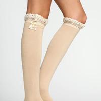 CROCHET KNEE HIGH SOCKS