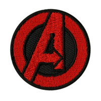 Marvel The Avengers Logo Mini Iron-On Patch