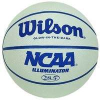 Wilson NCAA Illuminator, Glow in the Dark Basketball, 28.5""
