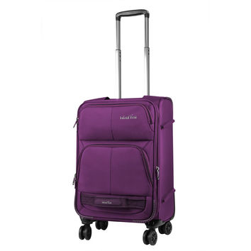 Windtook Expandable Luggage Set Softside Carry on Suitcase Purple 3 Pieces '