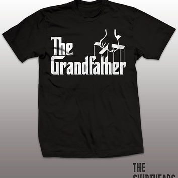 Funny Grandfather T-shirt - the godfather tee shirt, family tshirt, new grandparent, grandparents gift, grandson, granddaughter