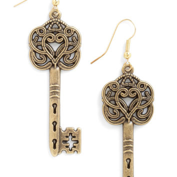 Everything Will Be O-key Earrings | Mod Retro Vintage Earrings | ModCloth.com