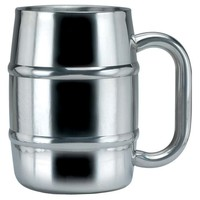 Double-Wall Stainless Steel Mug