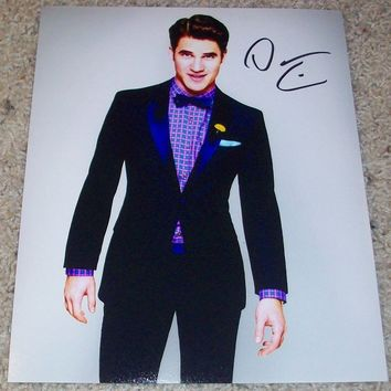 """Darren Criss From Hedwig And The Angry Inch & Glee 5""""X7"""" - Signed"""