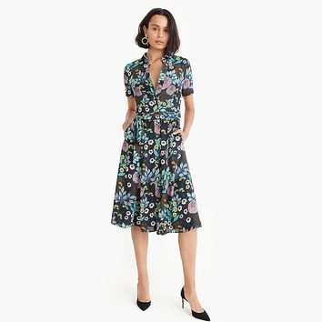 J.Crew X Abigail Borg shirtdress : Women shirt dresses | J.Crew