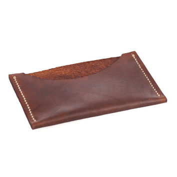 Small Leather Wallet, Men's Card Holder, Thin Wallet