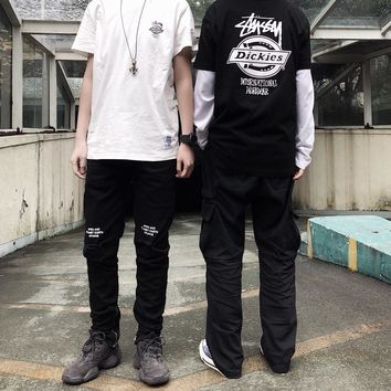 KUYOU Stussy x Dickies joint limited edition short sleeve