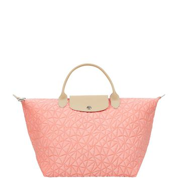 Longchamp Le Pliage Illusion Medium Handbag Coral | Harrods
