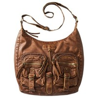 Mossimo Supply Co. Slouchy Hobo Handbag - Cognac