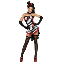 Halloween Devil Lace Party Costume [8978888327]