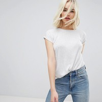 New Look Soft Textured Basic Tee at asos.com