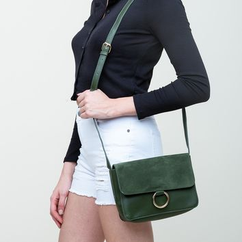 Give Me A Ring Purse in Green