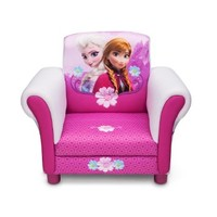 Childs Disney Frozen Anna & Elsa Arm Chair Upholstered Sofa Room Decor