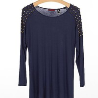 BKE Red Studded Top