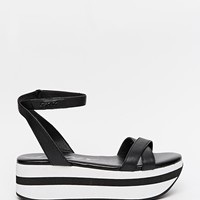 DKNY Active Valerie Flatform Wedge Sandals