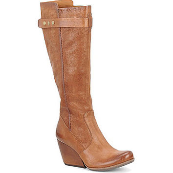 Kork-Ease™ Shawna Tall Wedge Boots - Tan