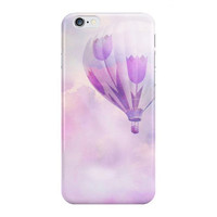 Lilac iPhone Case, Samsung Galaxy Case, Romantic Pink, Valentine Gift, Pink Balloon, Gift for Her