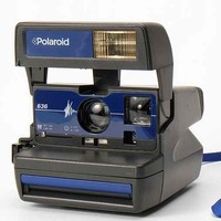 Impossible Vintage Blue Polaroid Instant Camera Set- Blue One