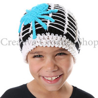 Spider Beanie! Fall/Halloween Kids & Adult Hat.