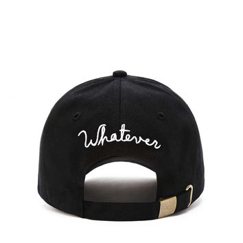 Whatever Embroidered Dad Cap