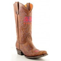 Gameday Boots Mens Leather University Of Mississippi Cowboy Boots