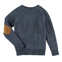 Boys Elbow-Patch Sweater (Kids)