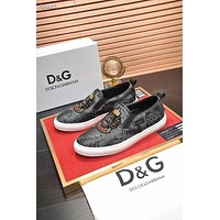 DG  Men popular Boots popularable Casual leather Breathable Sneakers Running Shoes
