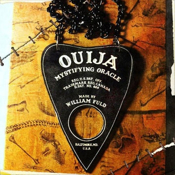 Ouija Board Planchette Necklace
