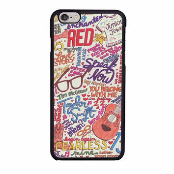 taylor swift collage iphone 6 6s 4 4s 5 5s 5c cases