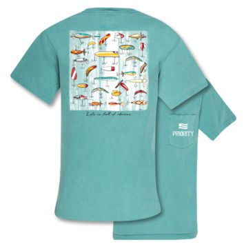 Southern Couture Priority Lure Choices Fishing Pocket Unisex T-Shirt