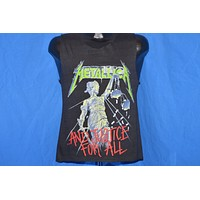 80s Metallica And Justice For All 89 Tour Tank Top t-shirt Small