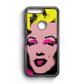 Andy Warhol Marilyn Monroe Pop Art Iconic Colorful Superstar Cute Google Pixel Case | aneend.com