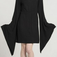 Hooded Witch Dress